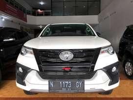 Toyota Fortuner VRZ TRD 2.4 Matic Diesel 2018 Km 33 Ribu Istimewa