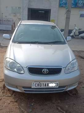 Toyota Corolla 2004 Petrol Good Condition Chandigarh number