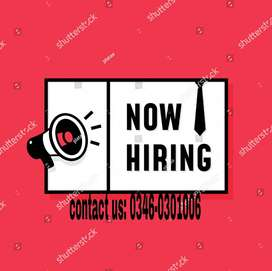 Male/females staffs required for online Advertisement!