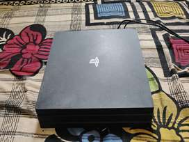 PS4 Pro With 10 Disc