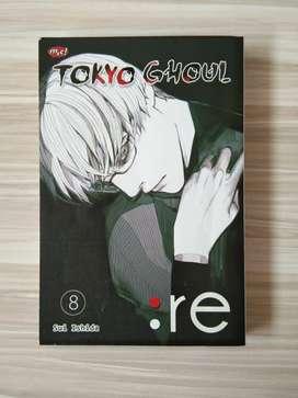Komik Tokyo Ghoul Re Vol 8