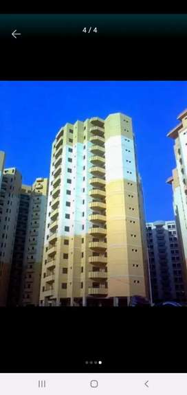 Bismillah tower flat for sell Gulistan e johar blk 10