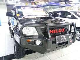 """TOYOTA HILUX D CAB 4X4 DSL MT """" 2014 HITAM"""