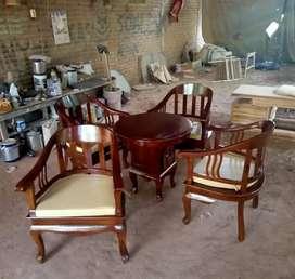 KURSI TERAS JATI MODEL BETAWI LENONG MPB213