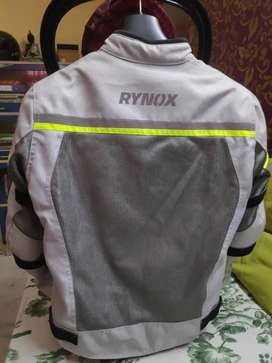 Bike Riding Jacket Rynox with warm jacket rain liner