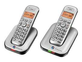 Cordless Phone (Twin) with Intercom  (USED)