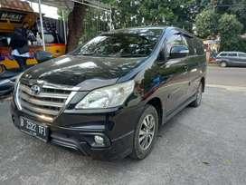 Toyota inova V Matic Bensin Th 2015 /Siap Pakai
