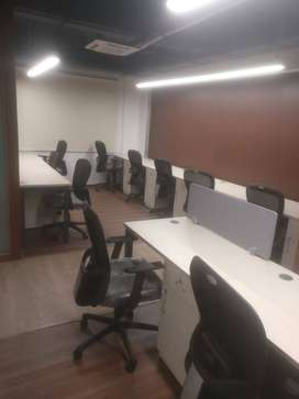 8 seater private cabin at office space in lowest price premium locatio