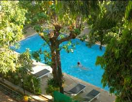 Pool Facing luxurious 2 BedRoom Apartment for Rent in Resort.