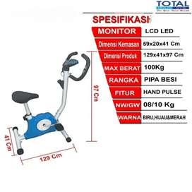 Sepeda statis mini murah ready