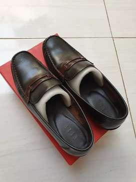 Sepatu kulit Elle loafers original