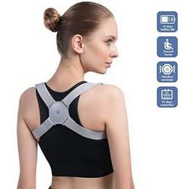 Adjustable Smart Sensor Posture Upper Back Brace Support for Men and