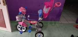 Sepeda anak sayang engga ke pake dari kado