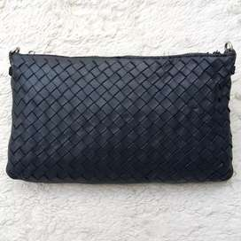 Tas import eks BOTTEGA VENETA made in Italy clutch/tas tangan