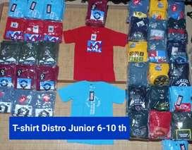 T-SHIRT Distro Junior Kids 5-10 th