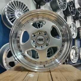 Velg Mobil Agya Ayla Ring 15 Pelek R15 Racing HSR Bisa Tukar Tambah