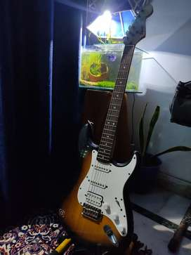 Electric guitar fender bullet start