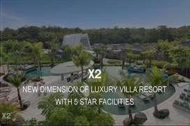 Dijual Villa Baru X2 Crossto Bali Breakers Resort di Jimbaran, Bali