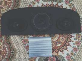 Amplifier Woofer and two speaker