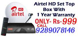 ALL AIRTEL DishTv VD2H(TaTa Sky DTH NEW HD CONNECTION FIRE STICK FREE)