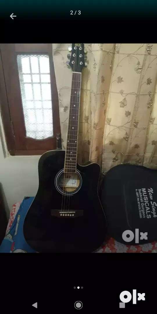 Rocks guitar black