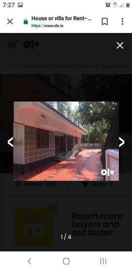 House or Villa for rent in Guruvayoor- Thrissur-Kerala