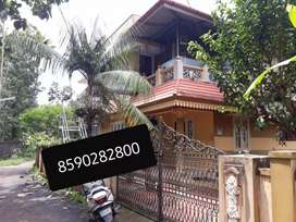 House rent aluva chunagamvelly 2Bhk upstair near
