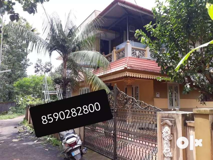 House rent aluva chunagamvelly 2Bhk upstair near 0