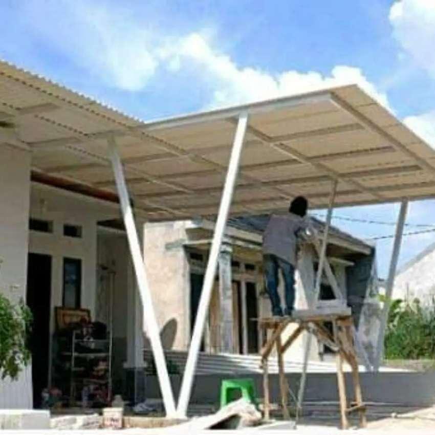 Bengkel las spesialis canopy