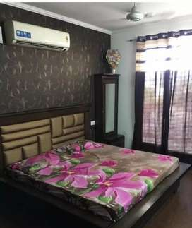 Fully furnished 2BHK flat available in Aero homes,Zirakpur
