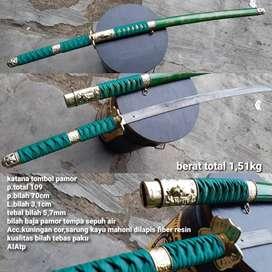 Samurai Katana Pamor Tombol