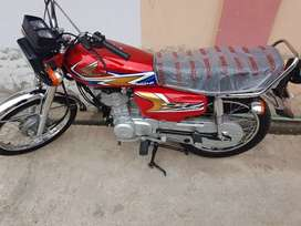 honda 125 new condestion applied for prize 1 lakh 18 hzar