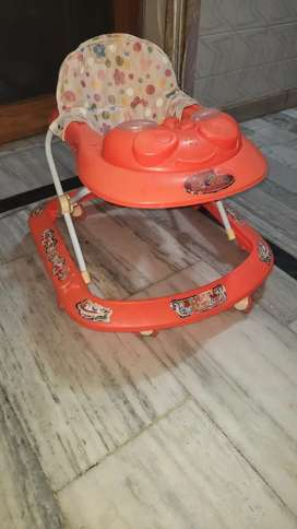 Baby walker, two month used