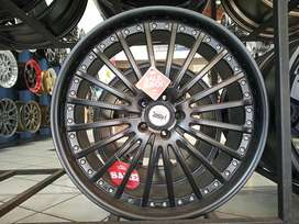 SALE JD59 HSR R22X9 H5X114,3 ET45 BLACK velg import