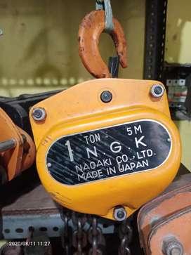 Takel/chain Block NGK 1 ton