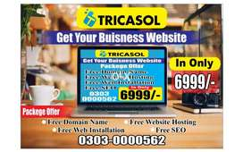 Cheap Offer Web Design Development with Domain Hosting Just 6999/-Rs