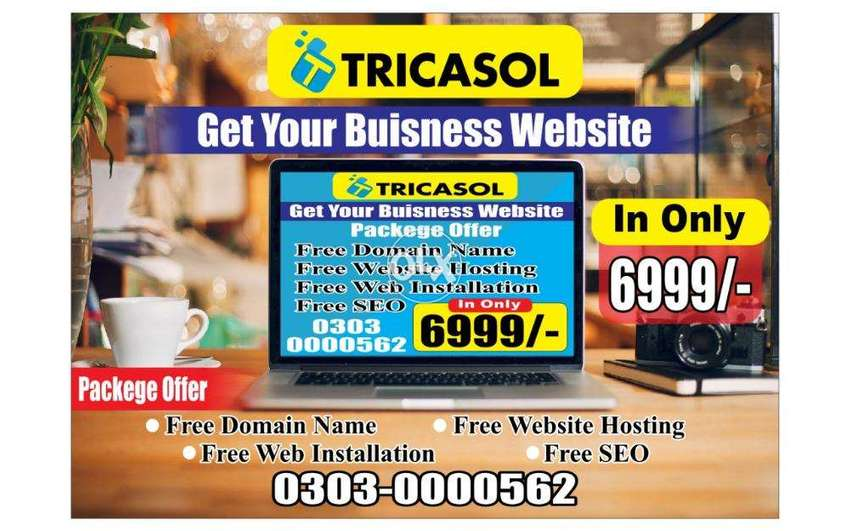 Cheap Offer Web Design Development with Domain Hosting Just 6999/-Rs 0