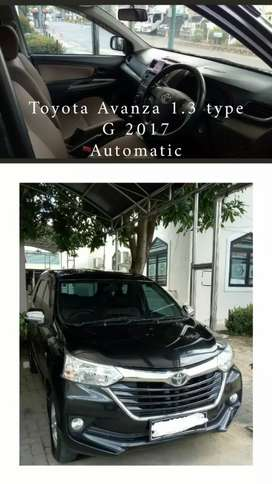 Jual Toyota Avanza 1.3 G 2017 automatic