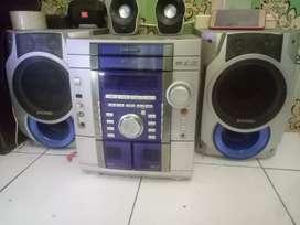 Radio compo merk samsung 400rb