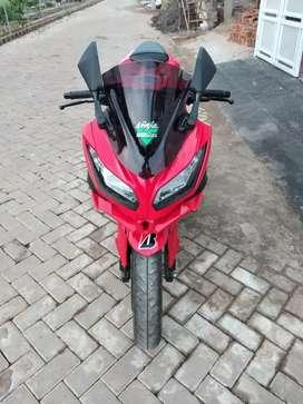 Kawasaki ninja 250 fi 2012 istimewah