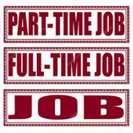 Part time or Full time job available
