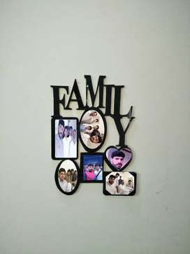 6 photos in one frame with word family