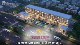 534 sq.ft. DSS on sale in Central Street, Sector 67, Mohali