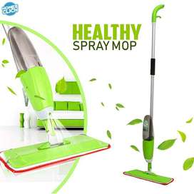 Healthy Spray Mop with Removable Washable Cleaning Microfiber Pad
