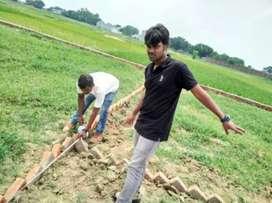 वाराणसी में रोहनिया गंगापुर रोड पे प्लॉट ले मात्र १४ लाख रुपए में |