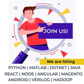 Embedded Raspberry Python Matlab Verilog Android Developers Required