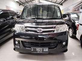 Daihatsu Luxio x matic 2013 hitam elegant