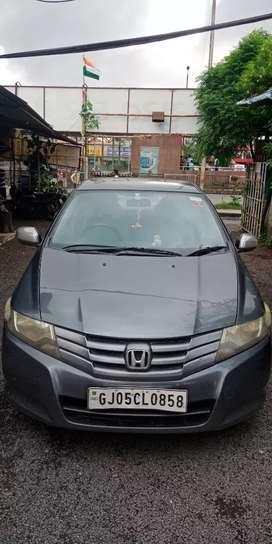 Honda City Grey 78000km Petrol/CNG