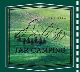 Menyewakan peralatan camping