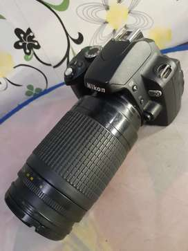 Nikon D60 lensa 70-300mm